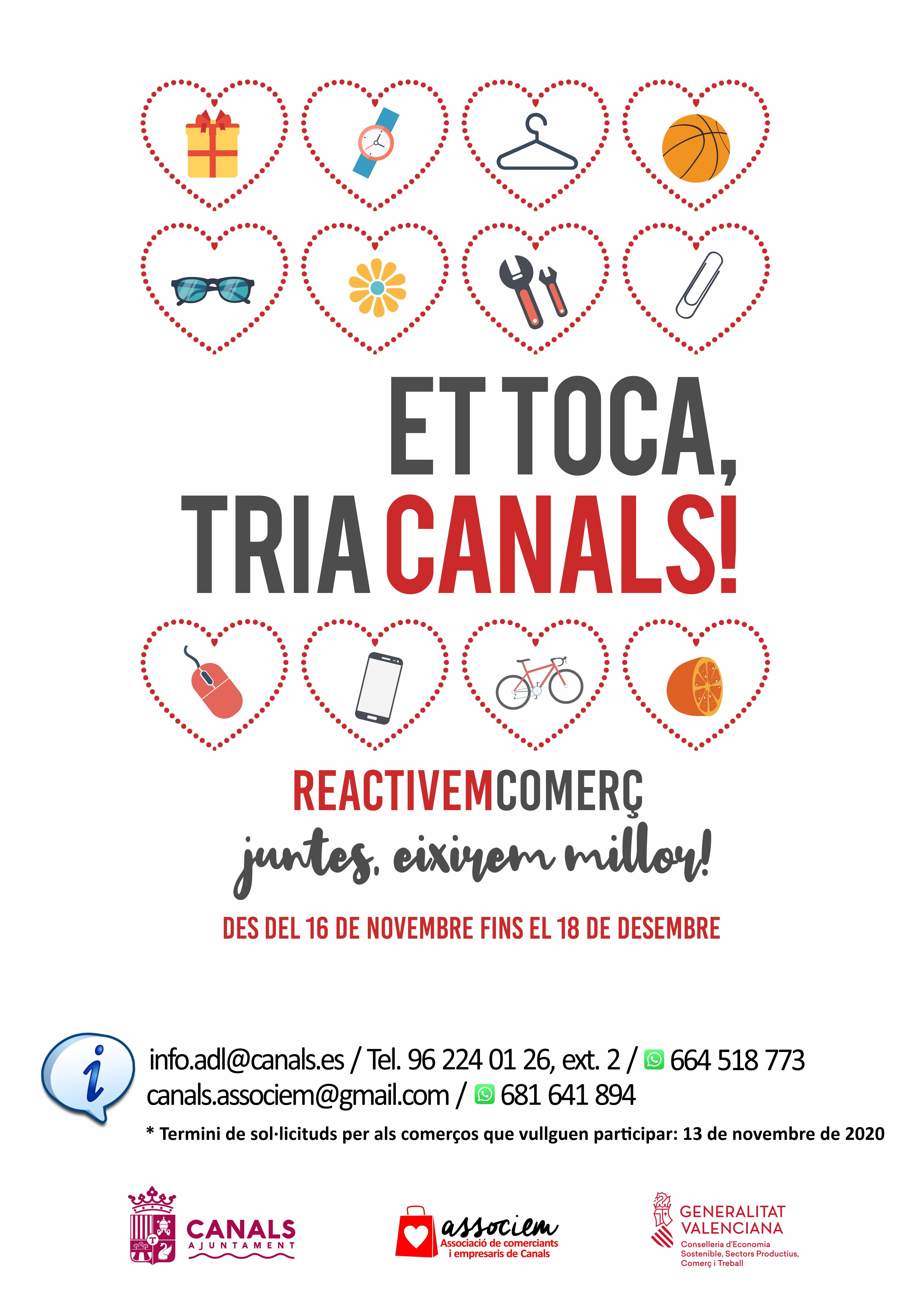 campanya: Et toca, tria Canals